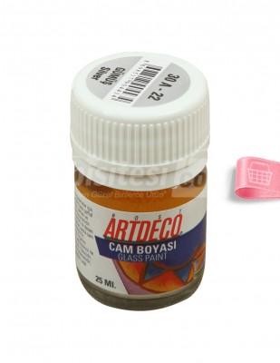 ARTDECO - Artdeco Cam Boyası - Gümüş - 25 ml