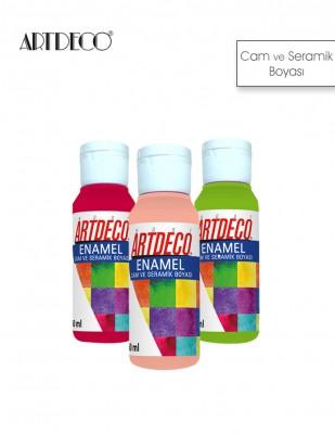 ARTDECO - Artdeco Enamel Cam ve Seramik Boyası - 60 ml