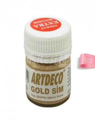 ARTDECO - Artdeco Kumaş Boyası - Simli Gold - 25 ml