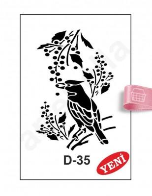 ARTEBELLA - Artebella Stencil - 20 x 30 cm - D35
