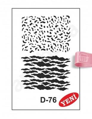 ARTEBELLA - Artebella Stencil - 20 x 30 cm - D76