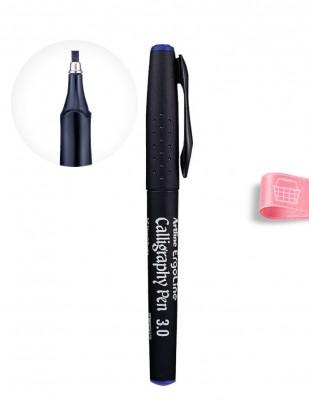 ARTLINE - Artline ErgoLine Calligraphy Pen, Kaligrafi Kalemi - 0.3 - Mavi