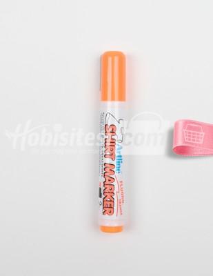 ARTLINE - Artline Shirt Marker - T-Shirt Kalemi - Fluoro Orange - 2 mm