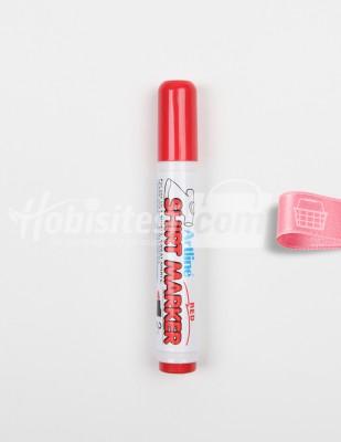 ARTLINE - Artline Shirt Marker - T-Shirt Kalemi - Red - 2 mm