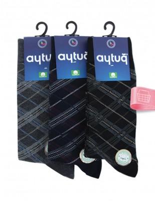 AYTUĞ - Aytuğ Organic Cotton Erkek Çorabı - 3 Adet