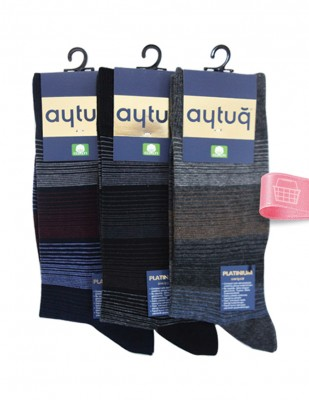 AYTUĞ - Aytuğ Cotton Erkek Çorabı - 3 Adet