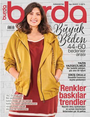 BURDA - Burda Dergi - Büyük Beden İlkbahar, Yaz - 2020 / 01