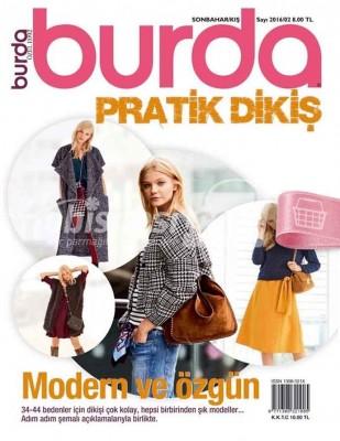 BURDA - Burda Özel Sayı - Pratik Dikiş / Sonbahar Kış - 2016 / 02