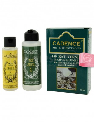 CADENCE - Cadence 100 Kat Vernik Takımı - 70+100 ml