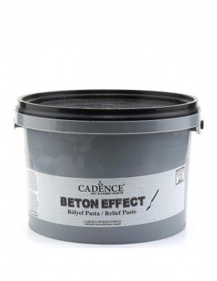 CADENCE - Cadence Beton Efekt Rölyef Paste - 3000 ml