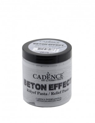 CADENCE - Cadence Beton Efekt Rölyef Paste - 250 ml