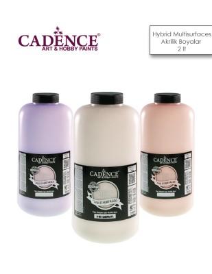CADENCE - Cadence Hybrid Multisurfaces Akrilik Boyalar - Yarı Mat - 2 lt