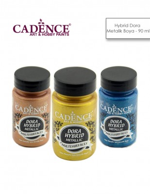CADENCE - Cadence Hybrid Multisurfaces Dora Metalik Boyalar - 90 ml