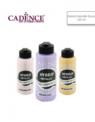 CADENCE - Cadence Hybrid Multisurfaces Metalik Boyalar - 120 ml
