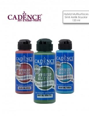 CADENCE - Cadence Hybrid Multisurfaces Simli Akrilik Boyalar - 120 ml