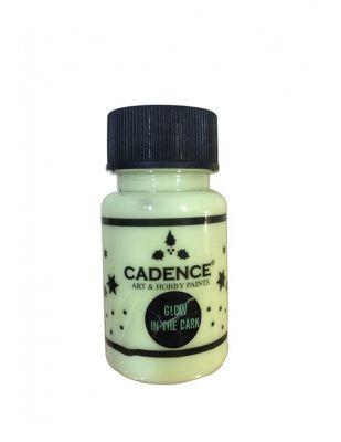 Cadence Glow In Dark - Karanlıkta Parlayan Boyalar - 50 ml