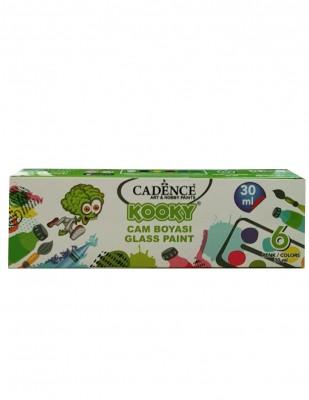 CADENCE - Cadence Kooky Cam Boya Seti - 6 Farklı Renk - 30 ml
