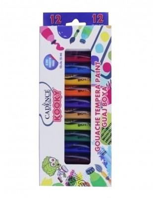 CADENCE - Cadence Kooky Guaj Boya Seti - 12 Farklı Renk - 15ml