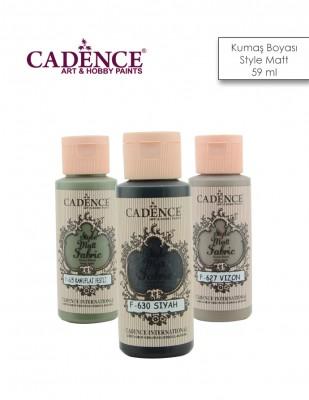 CADENCE - Cadence Kumaş Boyası - Style Matt - 59 ml (1)