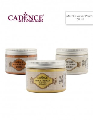 CADENCE - Cadence Metalik Rölyef Pasta - 150 ml