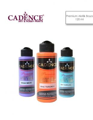 Cadence Premium Akrilik Boya - 120 ml