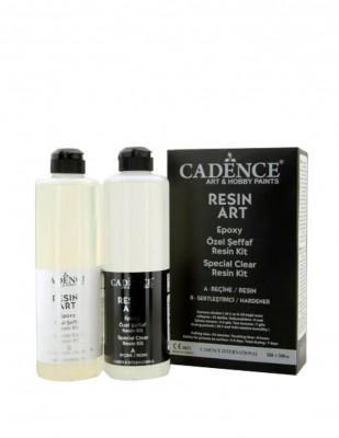CADENCE - Cadence Resin Art Şeffaf Epoksi Seti - 500 + 500 ml