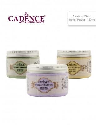 CADENCE - Cadence Shabby Chic Rölyef Pasta - 150 ml