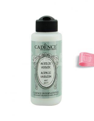 Cadence Su Bazlı Mat Vernik - 120 ml