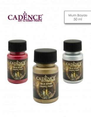 CADENCE - Cadence Su Bazlı Mum Boyaları - 50 ml