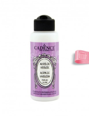 CADENCE - Cadence Su Bazlı Parlak Vernik - 120 ml