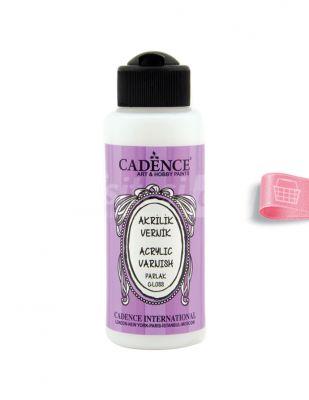 Cadence Su Bazlı Parlak Vernik - 120 ml