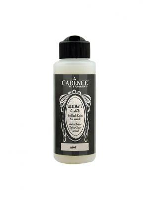Cadence Su Bazlı Ultimate Glaze Mat Vernik - 120 ml