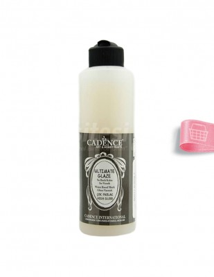 CADENCE - Cadence Su Bazlı Ultımate Glaze Vernik - 250 ml