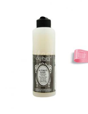 Cadence Su Bazlı Ultımate Glaze Vernik - 250 ml