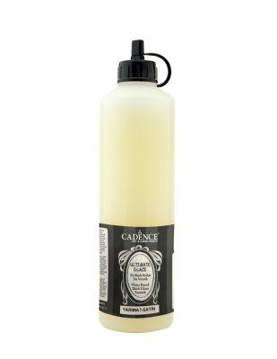 Cadence Su Bazlı Ultimate Glaze Yarımat Vernik - 500 ml
