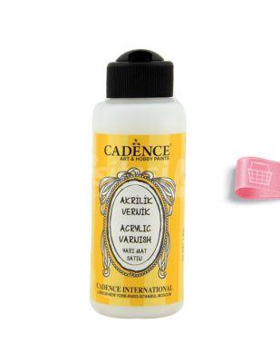 Cadence Su Bazlı Yarımat Vernik - 120 ml