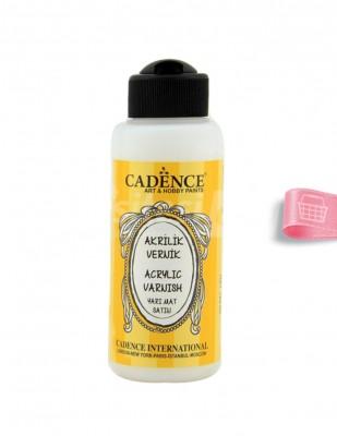 CADENCE - Cadence Su Bazlı Yarımat Vernik - 120 ml