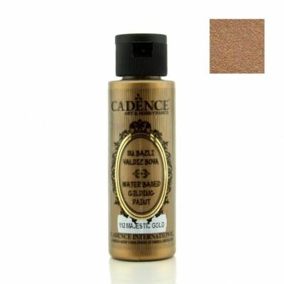 CADENCE - Cadence Su Bazlı Metalik Yaldız Boya - 120 ml (1)