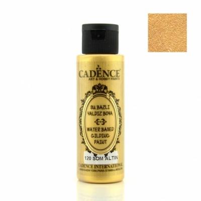 Cadence Su Bazlı Metalik Yaldız Boya - 120 ml - Thumbnail