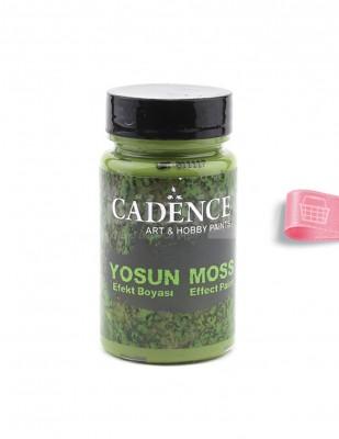 CADENCE - Cadence Yosun Efekt Boyası - 90 ml - 3640 Koyu Yeşil