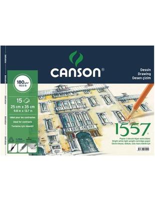 CANSON - Canson Drawing Teknik Çizim Defteri - 15 Yaprak - 25 x 35 cm
