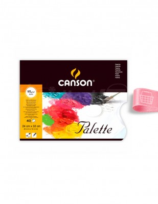 CANSON - Canson Palet Defter - 24 x 32 cm - 95 g/m²