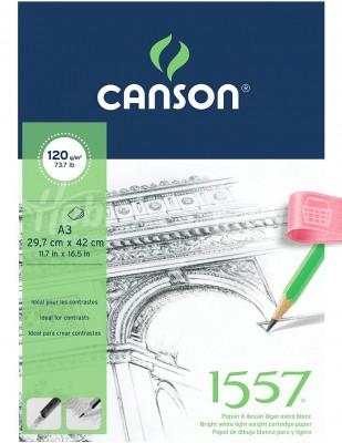 CANSON - Canson Sketch, Eskiz Defteri - A3, 40 Yaprak