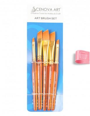 CENOVA - Cenova Fırça Seti - Set 134 - Karma 5 Adet Fırça