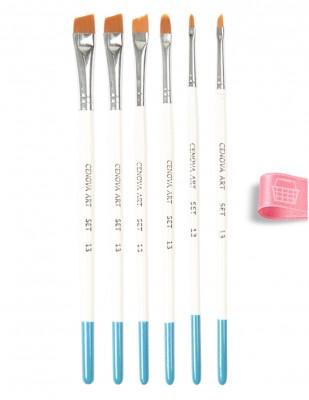 CENOVA - Cenova Fırça Seti - Set 13 - Karma 6 Adet Fırça (1)