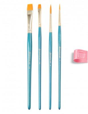 CENOVA - Cenova Fırça Seti - Set 22 - Karma 4 lü (1)