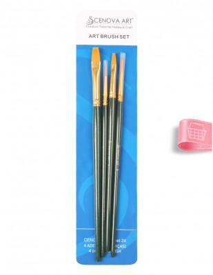 CENOVA - Cenova Fırça Seti - Set 24 - Karma 4 lü