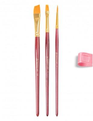 CENOVA - Cenova Fırça Seti - Set 25 - Karma 3 lü (1)