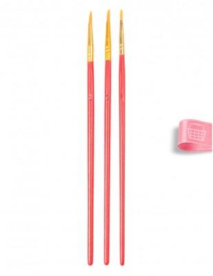 CENOVA - Cenova Fırça Seti - Set 302 - Yuvarlak Uç 3 lü (1)