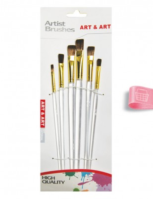 - Art & Art Fırça Seti - 6 Adet